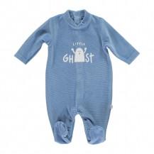 Pijama terciopelo azul fuerte