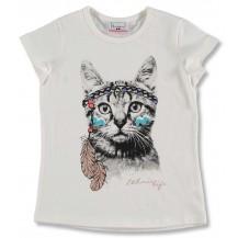 """Camiseta m/c gato """"Delhi"""""""