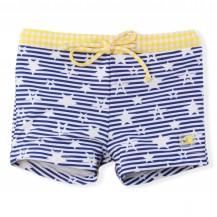 Boxer estrellas azul y amarillo