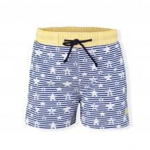 Bañador estrellas azul y amarillo