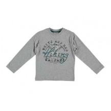 Camiseta gris ancla