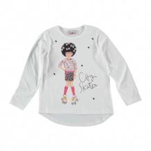 Camiseta niña patines