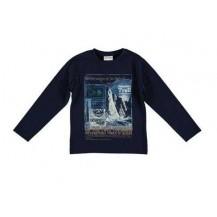 Camiseta trail azul