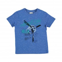 Camiseta ginebra azulón