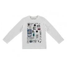 Camiseta radio blanca