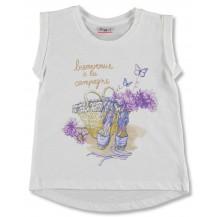 """Camiseta s/mangas alpargatas """"ceret"""""""