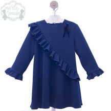 Vestido colibrí azul