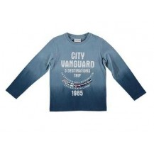 Camiseta city azul
