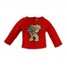 Jersey niña oso rojo