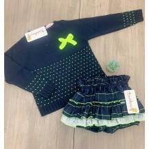 Conjunto bombacho + jersey neon