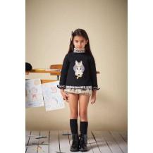Conjunto short + blusa + jersey cora