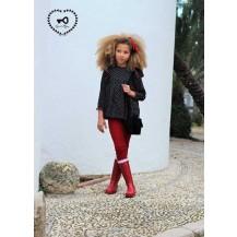 Blusa corazones + pantalón rojo amores
