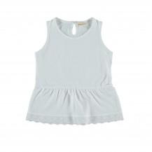 Camiseta jaipur sin mangas blanca