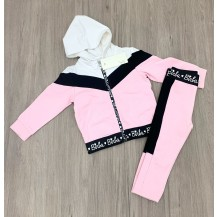 Chandal birba negro y rosa