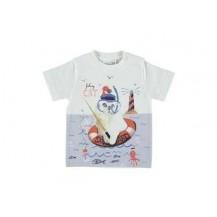 Camiseta fishing cat