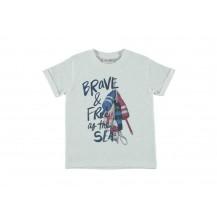 Camiseta Brave blanca