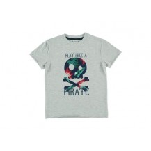 Camiseta pirate gris
