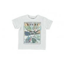 Camiseta Heading blanca