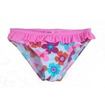 Bañador culotte niña rosa con flores