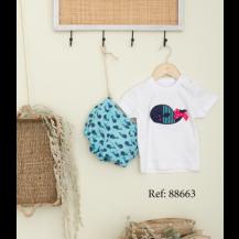 Conjunto tarifa bombacho y camiseta