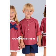 Camisa niño colección Zafiro
