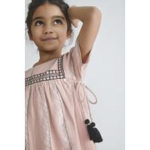 Vestido bangalore rosa