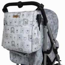 Bolso silla paraguas bears gris