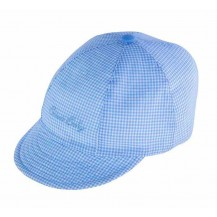 Gorra vichy azul sweet baby