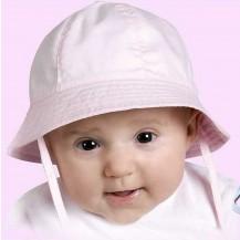 Gorra bebé rosa