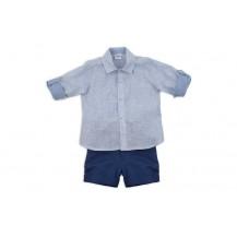 Conjunto bermuda y blusa colección azulina