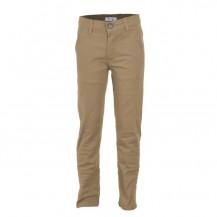 Pantalón largo sarga camel