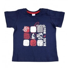 Camiseta algodón marino m/c