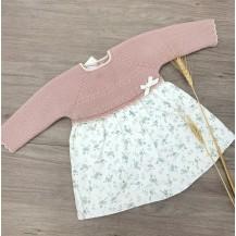 Vestido Salvia rosa