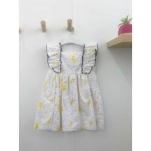 Vestido hadas amarillas