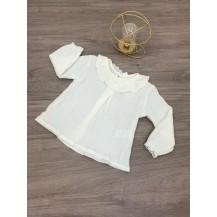 Camisa gasa Kore natural