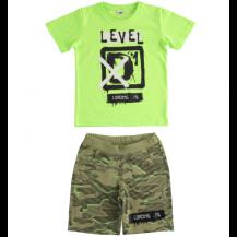 Conjunto level verde fluor