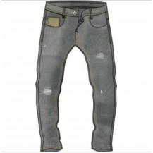 Pantalón vaquero gris oscuro