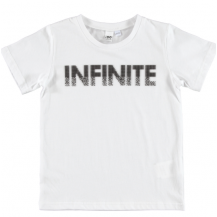 Camiseta infinite blanco