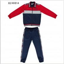 Chándal rojo y azul team 98