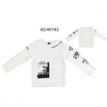 Camiseta manga larga crudo bootleg