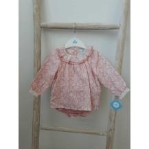 Conjunto dos piezas Myriam rosa palo