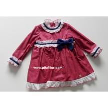 Vestido bebé colección zafiro