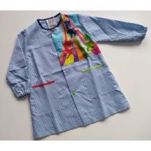 Bata pijamars azul