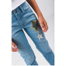 Pantalón vaquero estrellas