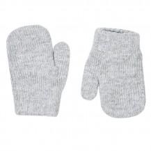 Manoplas con dedo suave 234 gris medio