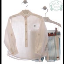 Conjunto bermuda + camisa Klimt