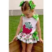 Conjunto braguita fresas + camiseta