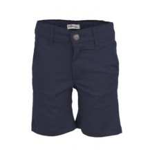 Pantalón niño sarga corto marino