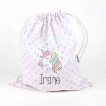 Petate unicornio personalizado