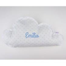 Cojín Nube Azul Handmade Personalizado